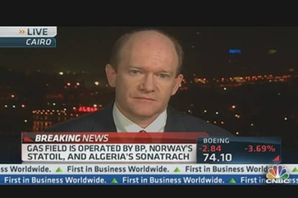Sen. Coons on Algerian Gas Facility Attack