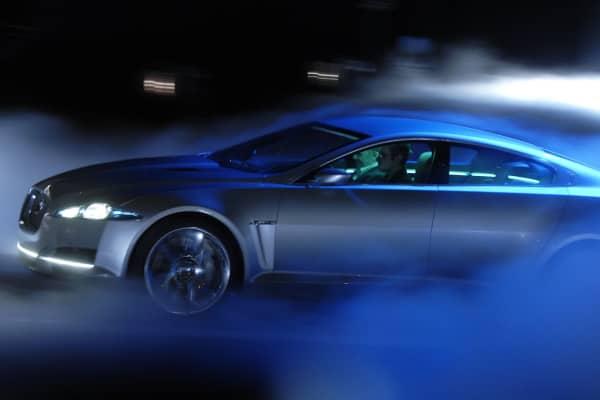 2013 Detroit Auto Show Jaguar C-XF Concept Car