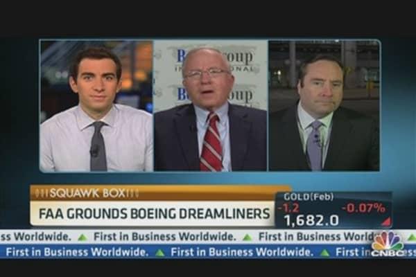 FAA Grounds Boeing Dreamliner For Battery Check