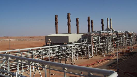 In Amenas gas plant in Algeria.