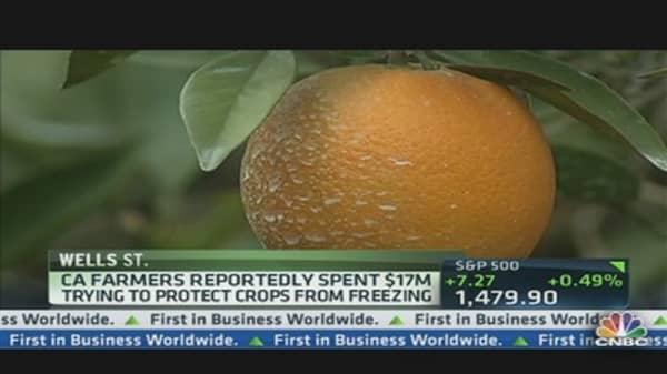 Veggie Prices Soar As Winter Bites