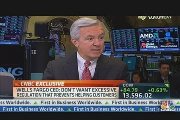 Wells Fargo CEO: Recovery Not As Strong As It Needs to Be