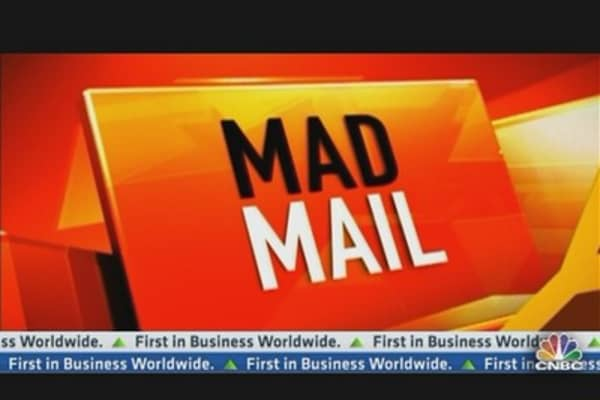 Mad Money Mail: Ironwood Pharma, Santarus & More