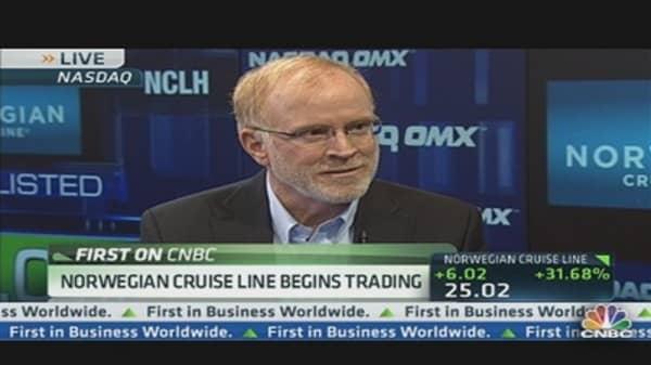 Norwegian Cruise Line Begins Trading
