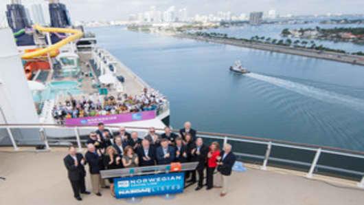 Norwegian Cruise Line Bell Ceremony