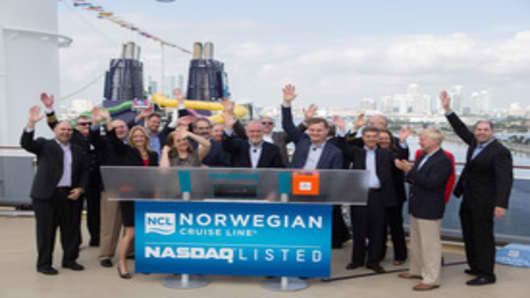 Norwegian Cruise Line Ltd. Bell Ceremony