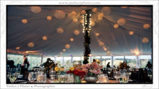 Wedding reception in Savannah, GA
