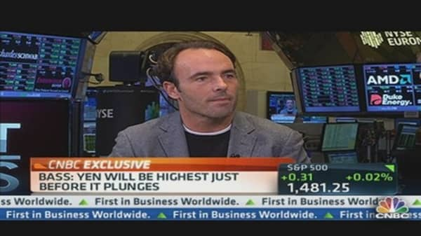 Kyle Bass: Japan's 'Debt Time Bomb' Tell
