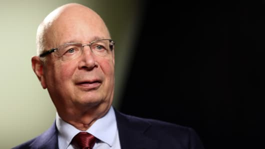 Klaus Schwab, chairman of the World Economic Forum (WEF).