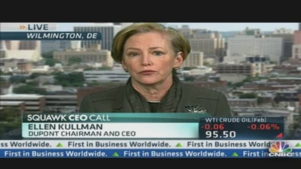 DuPont CEO on Q4 Earnings & Agriculture Biz