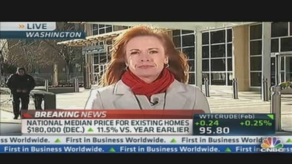 December Existing Home Sales Down 1%