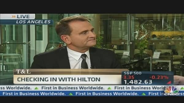 Private Equity Helps Fix Hilton