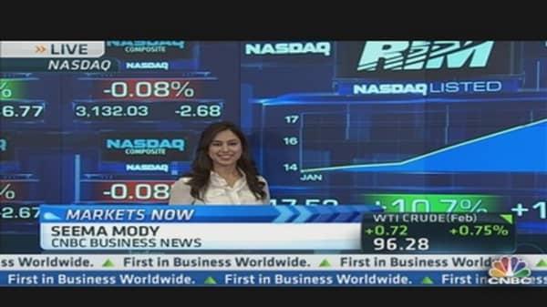 Nasdaq: Focus on Tech Movers