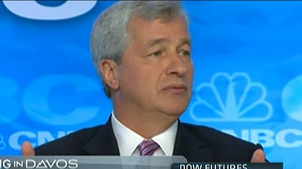 Dimon Says JPMorgan Not a 'Fair Weather Friend'