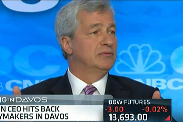 Dimon Says JPMorgan Not a 'Fair Weather Friend'