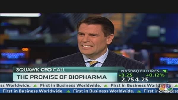 Aegerion CEO on Promise  of Biopharma