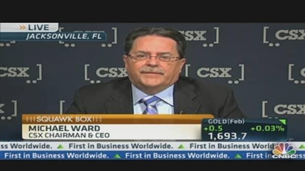 CSX CEO See 'Slow Steady Growth' Ahead