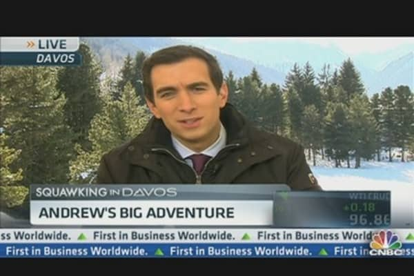 Andrew's Big Adventure: Getting to Davos