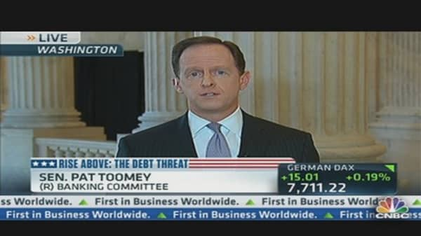 Sen. Toomey: 'Senate Doesn't Function'