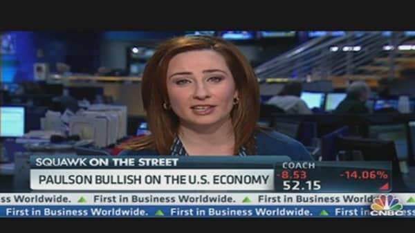 Why Paulson Is Bullish on US Economy