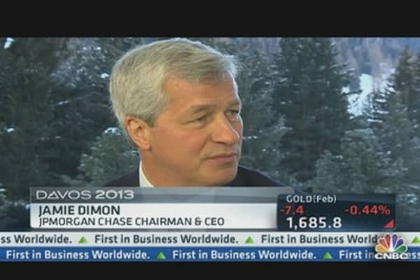 JPMorgan's Dimon on Pay Cut, Housing & Low Rates