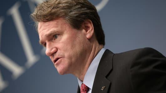 Brian Moynihan, CEO of Bank of America