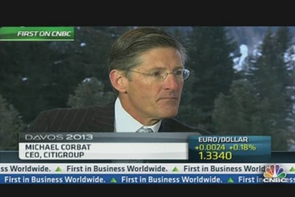 Citi's Corbat: Macro-Economic Picture Too Weak to Release Reserves