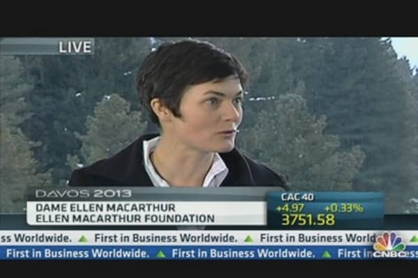 Recycling is Key: Ellen MacArthur