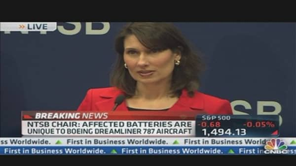 NTSB's Update on Dreamliner's Lithium Ion Battery