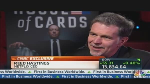 Netflix CEO: We Look to HBO for Inspiration