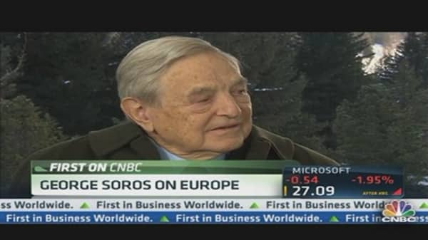George Soros: European Banking System Revived