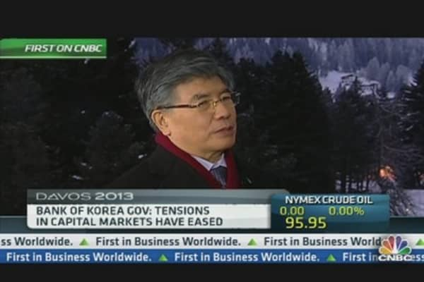 Bank of Korea Gov: Tensions in Capital Markets Have Eased