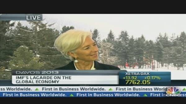 IMF's Lagarde: Central Bank Action Was and Still Is Needed