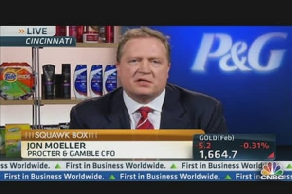 Procter & Gamble Tops Estimates & Raises Outlook
