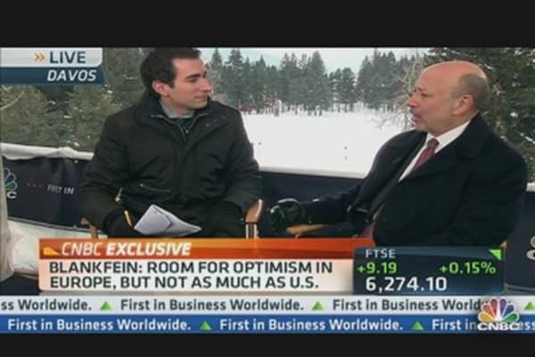 Banking on Blankfein at Davos, Part 2