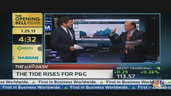 Cramer's Mad Dash: Tide Rises For P&G