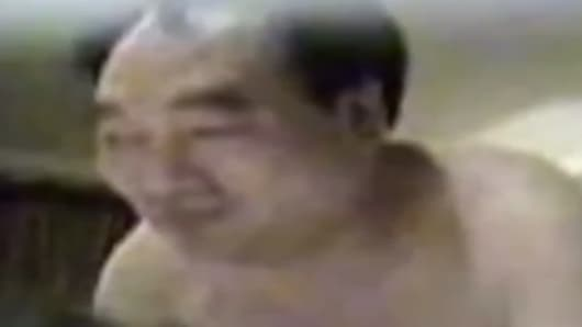 Still from a Lei Zhengfu Sex Tape Scandal.
