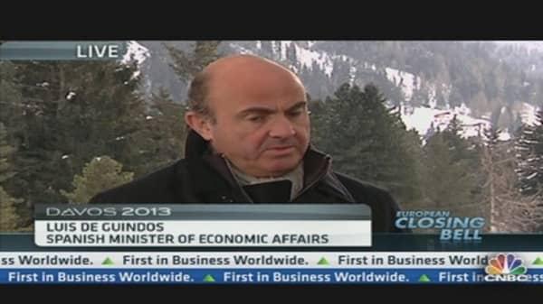 Spain's Economy Lags Market Sentiment: Minister