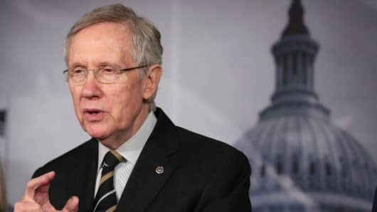 Senate Majority Leader Harry Reid (D-NV)