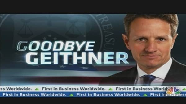 Geithner's Last Day Today