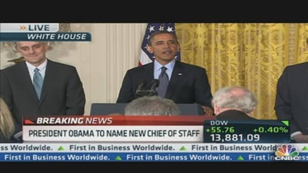 President Names New Chief of Staff