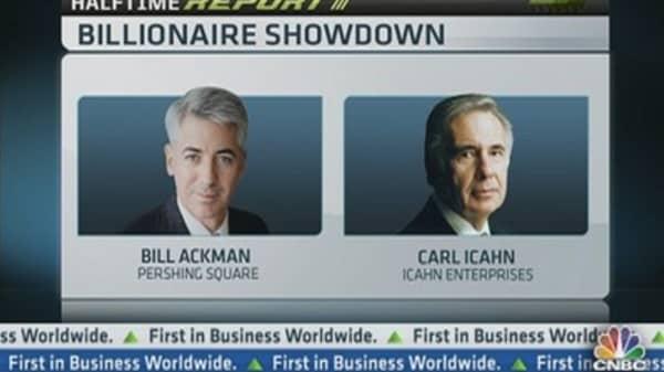 Ackman vs Icahn: The Highlights