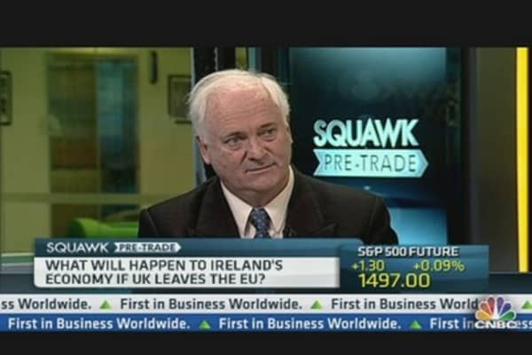 Ireland's Bruton: Confident Bank Deal With ECB Will Happen