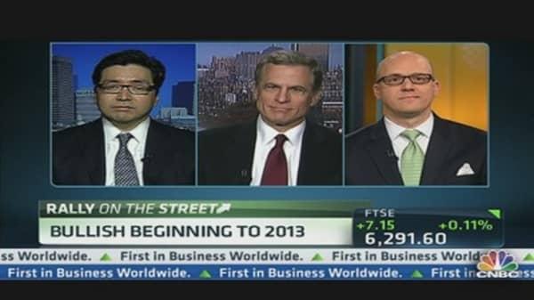 Bullish Beginning to 2013