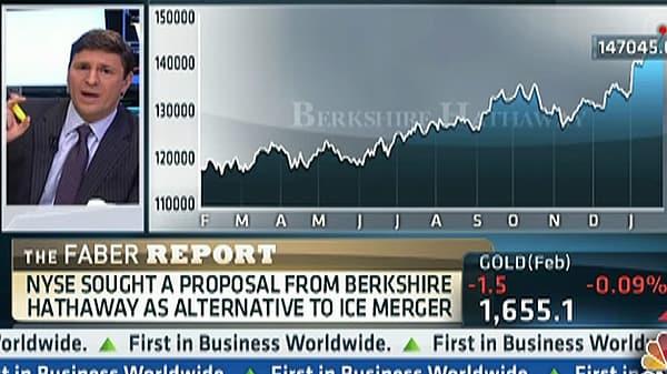 Buffett's Berkshire Had Merger Talks With NYSE: Faber