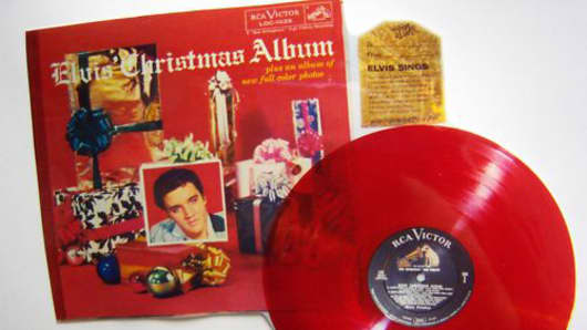 Elvis Presley The Christmas Album 2020 For Sale: Red Elvis Christmas Album Offered for $30,000
