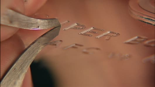 The Super Bowl Trophy in the process of being engraved.