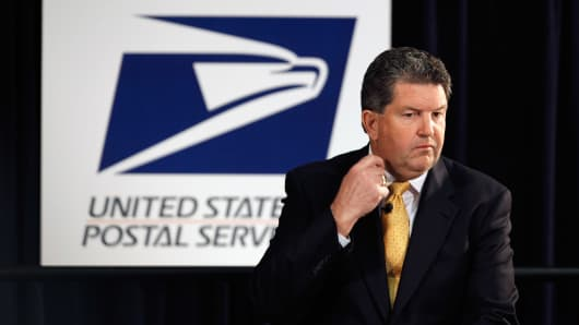 Postmaster General Patrick Donahoe.