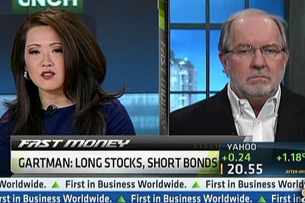 Gartman Still Likes Stocks Vs. Bonds