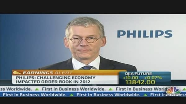 Philips CEO: Confident About 2013 Financial Targets